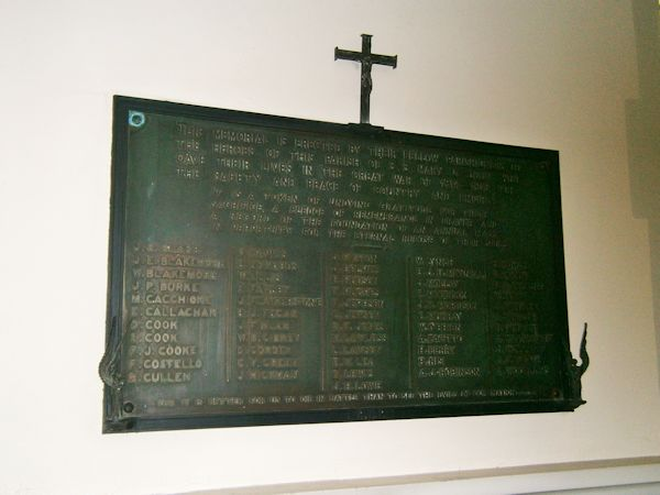St Mary & St john Church War Memorial